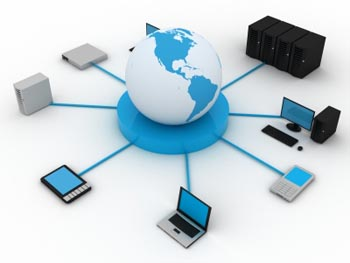 business networks and servers support